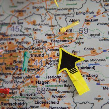 Distra-Handel-Landkarte